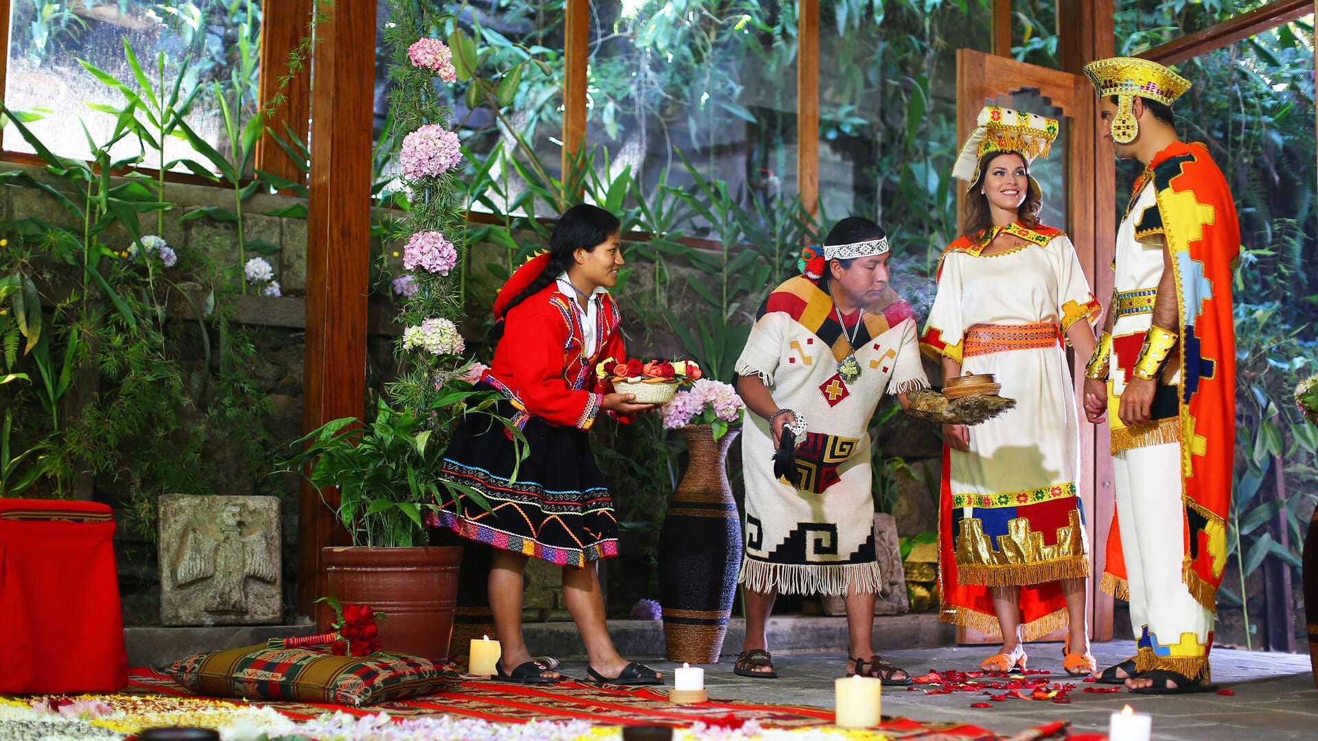 Wedding Ceremony Vow.Andean Wedding Vow Renewal Ceremony Luxury African Safaris South