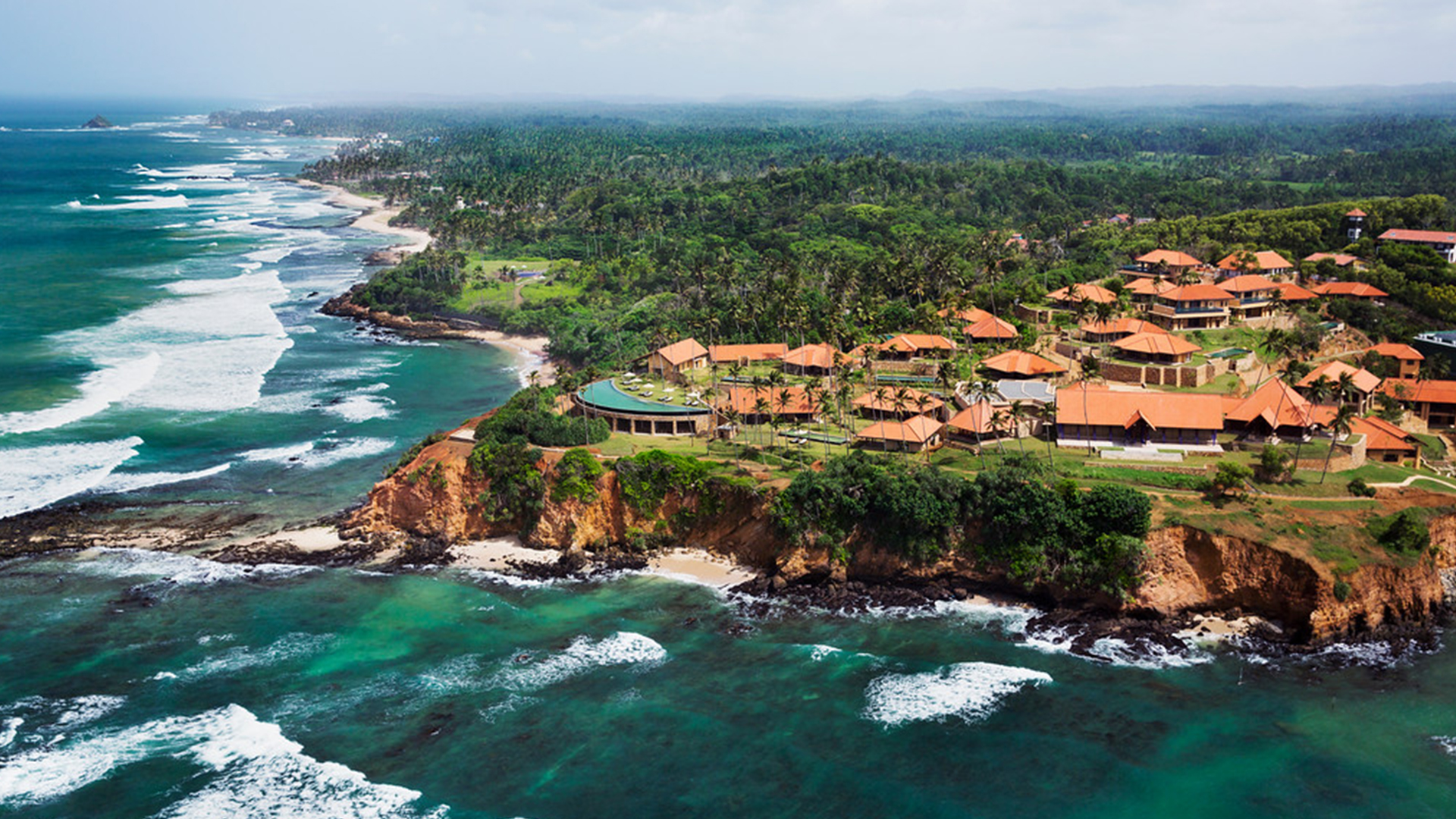 TOURISM INDUSTRY Arieal-Cape-Weligama