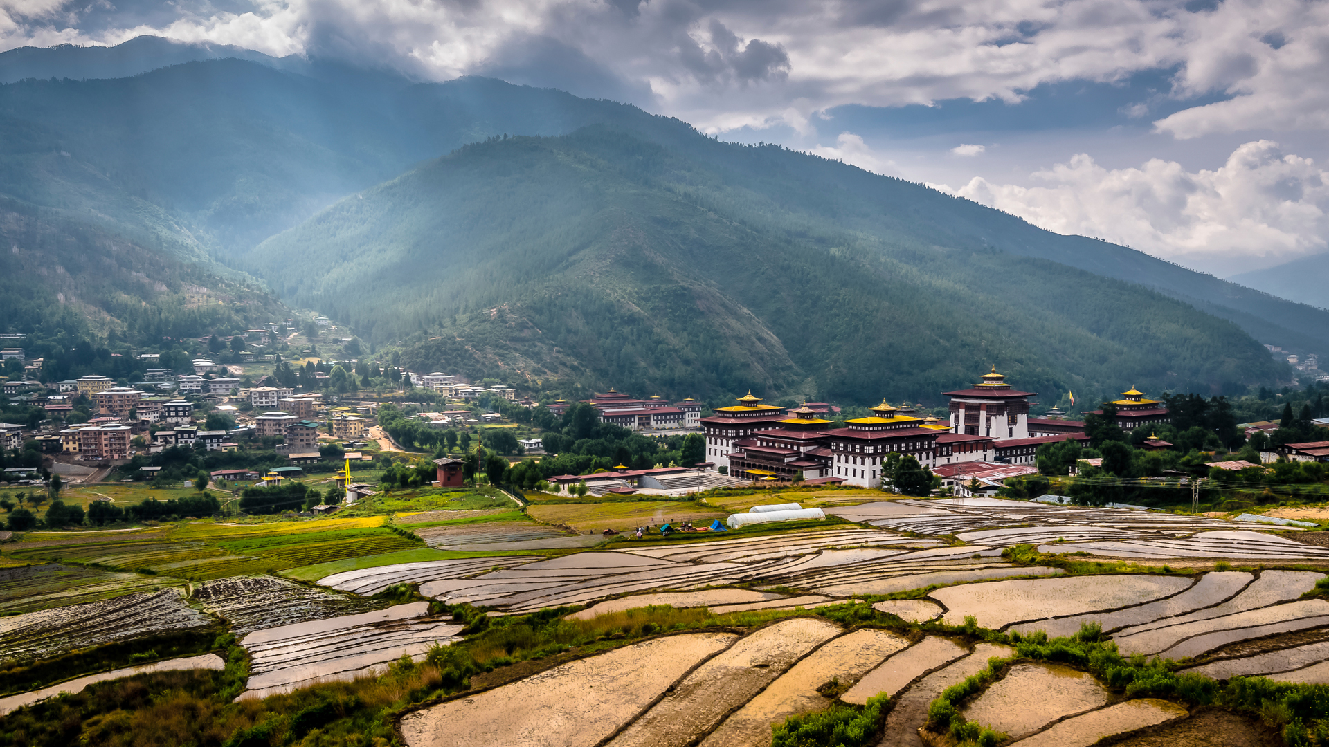 Thimphu Bhutan::PLAN & MAP & COUNTRY